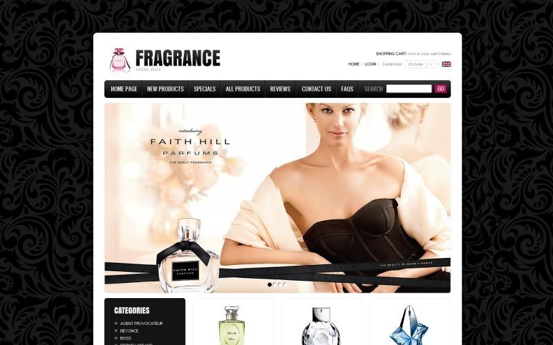 Fragrances Online ZenCart Template