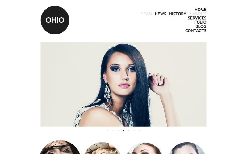 Model Agency Joomla Template