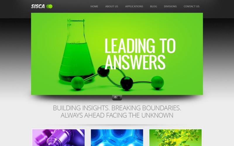 Science Joomla Template