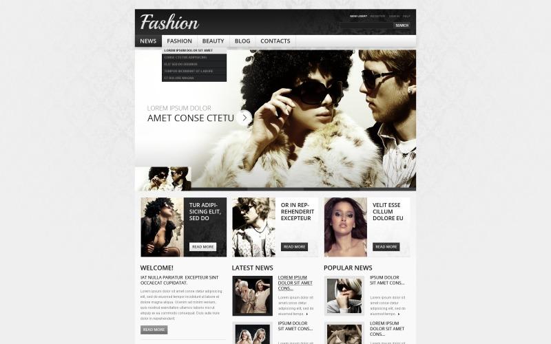 Fashion Drupal Template