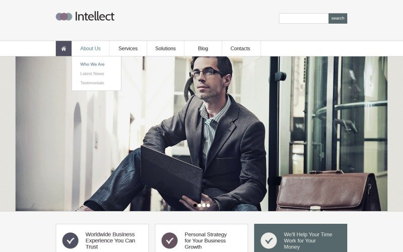 Business & Services Joomla Template