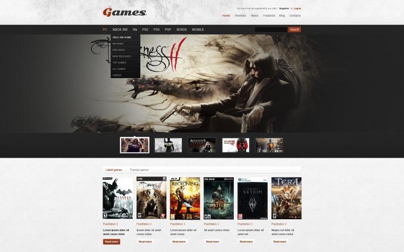 Game Portal WordPress Theme