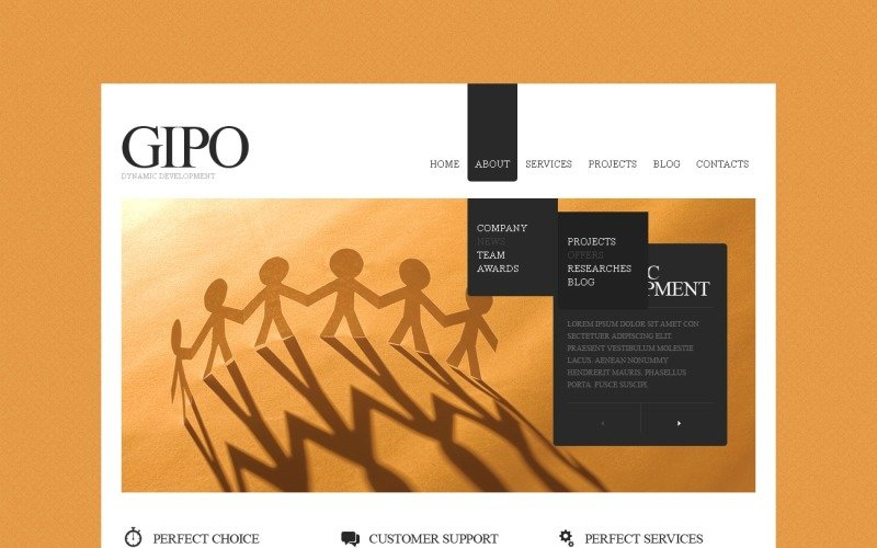 SEO Website Drupal Template
