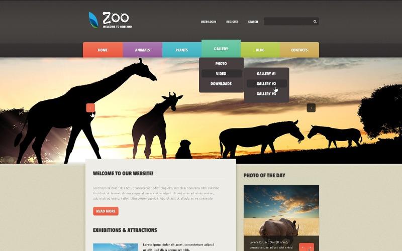 Zoo Joomla Template