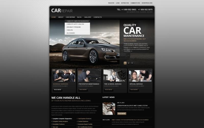 Car Repair WordPress Theme