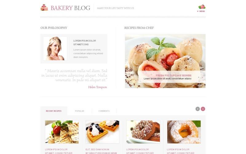 Bäckerei WordPress Theme