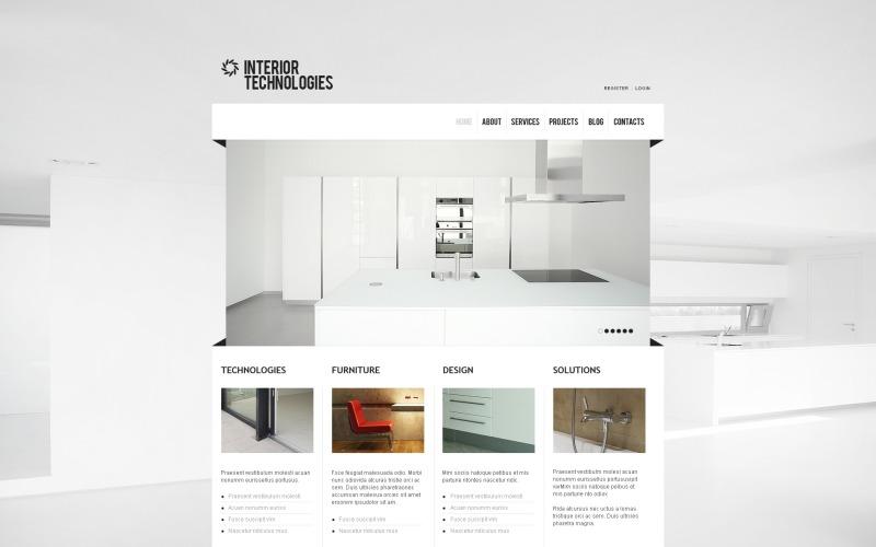 Interior & Furniture Joomla Template