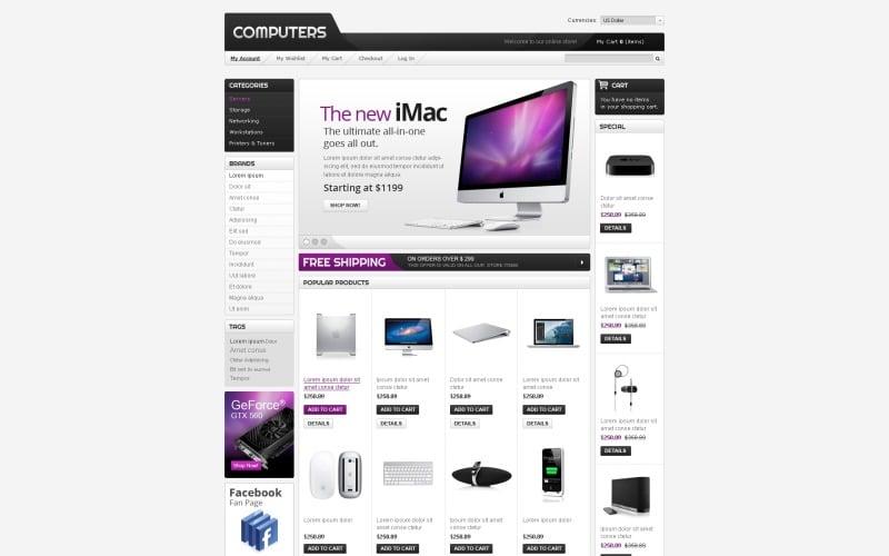 Computer Technics Magento Theme