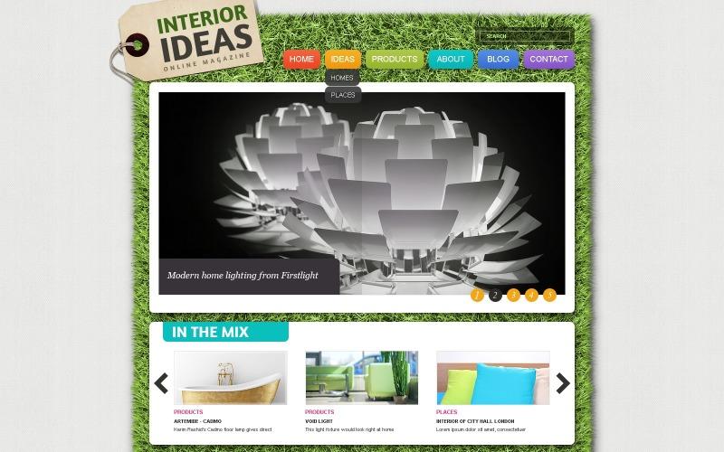 Interior Design Joomla Template