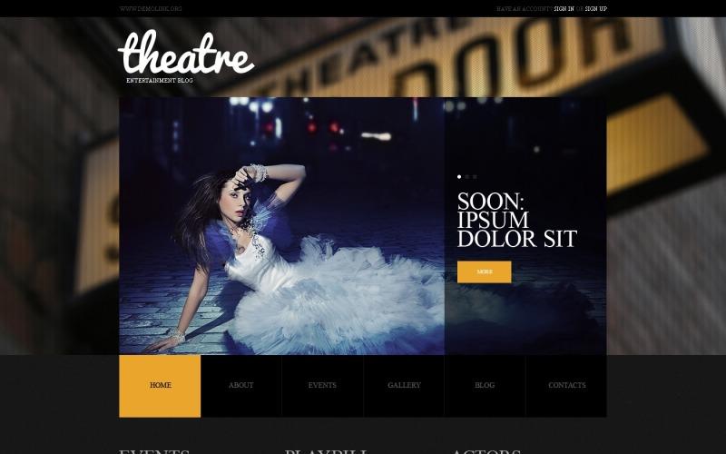Theater WordPress Theme