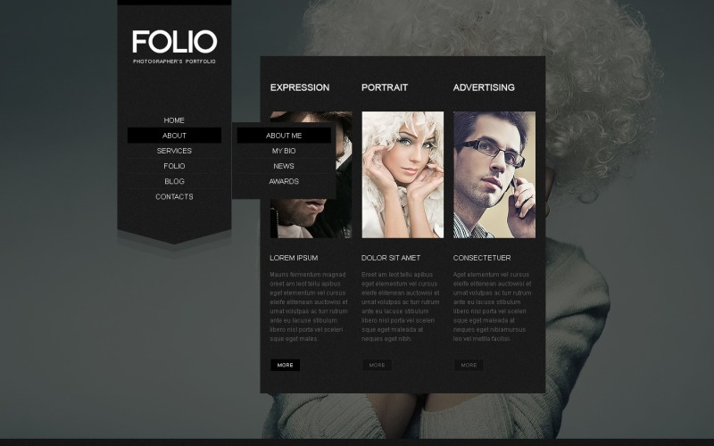 Wordpress Themes Fotografen