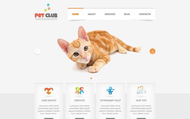 Animals & Pets Drupal Template