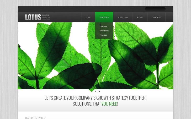 Business & Services Drupal Template