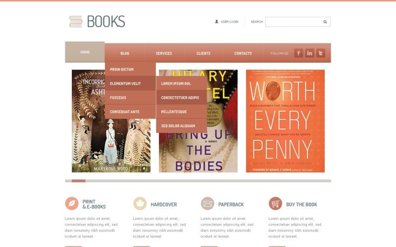 Book Reviews Joomla Template