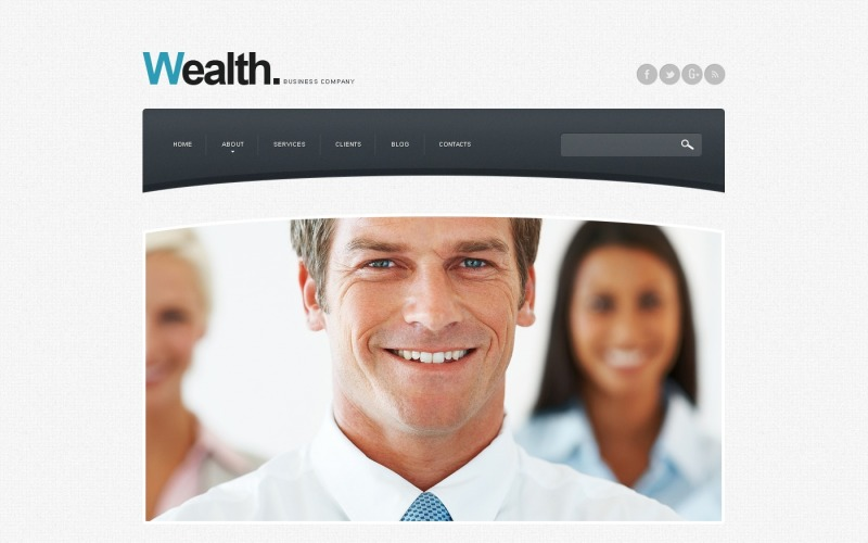 Modelo de agência de publicidade Drupal