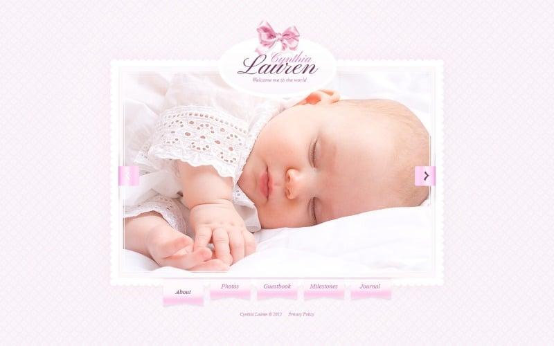 Newborn Website Template