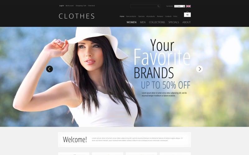 Clothes that Inspire ZenCart Template