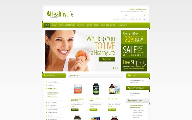 Healthy Family Magento Theme