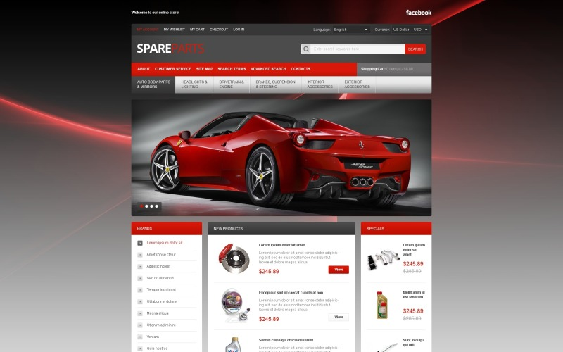 Spares for Your Bolide Magento Theme