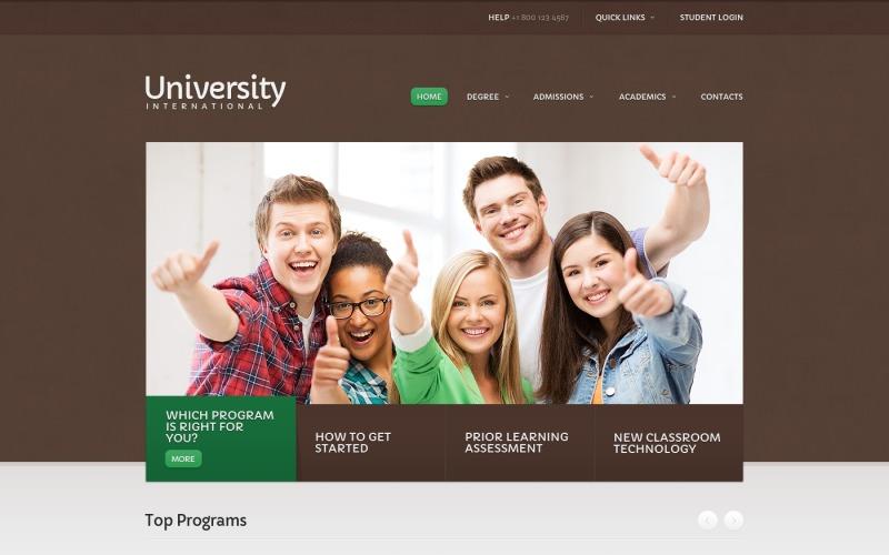 University Website Template