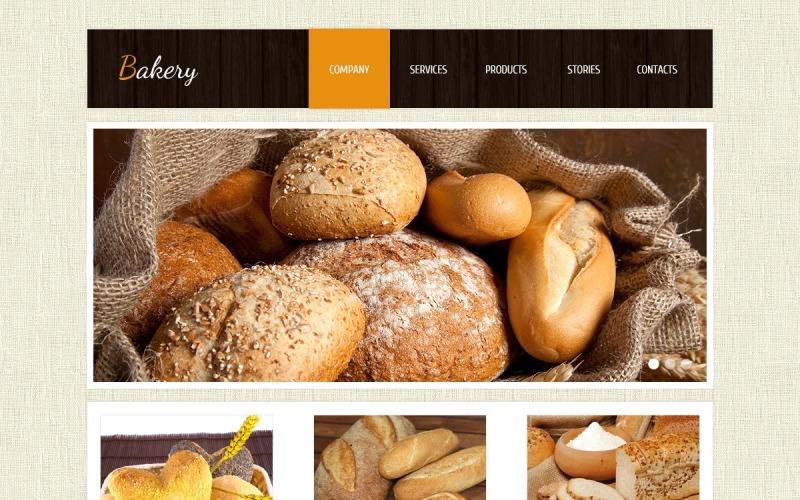 Plantilla Joomla de panadería
