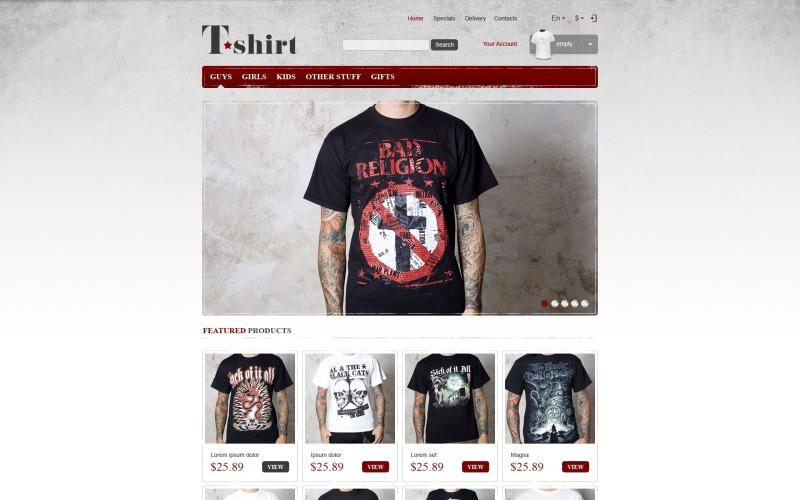 Star T-Shirts Store PrestaShop Theme
