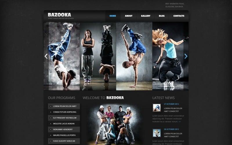 Dance Studio Joomla Template