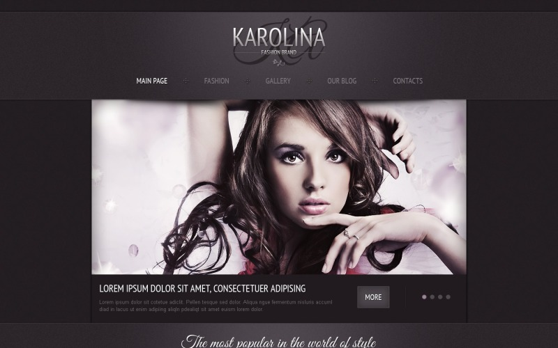 Fashion Joomla Template