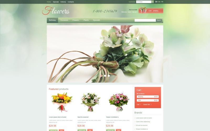 Garden Flowers PrestaShop Theme
