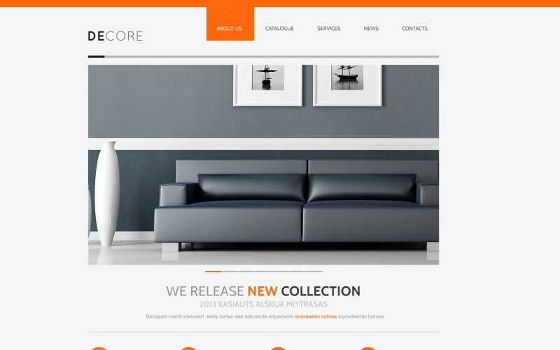 Шаблон Joomla Home Decor
