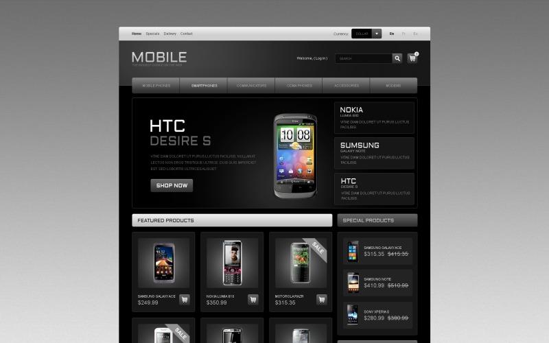 Mobile Phones PrestaShop Theme