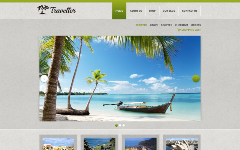 Traveler Jigoshop Theme