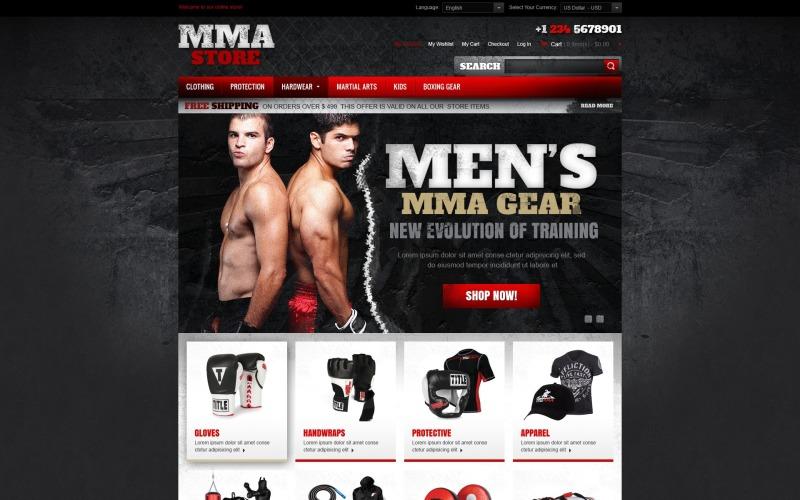 Martial Arts Store Magento Theme