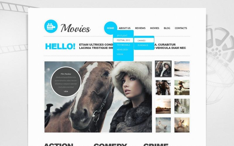 Movie Joomla Template