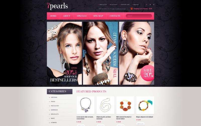 Jewels & Bijouterie OpenCart Template