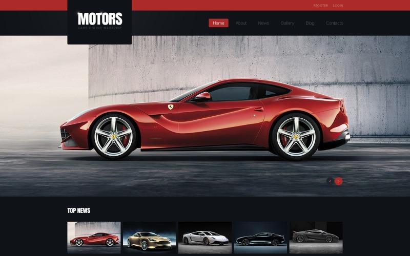 Black Car Joomla Template