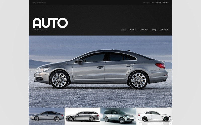 Car Metallic Joomla Template