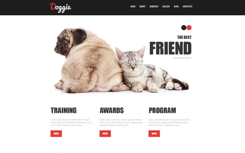Dog Joomla Template