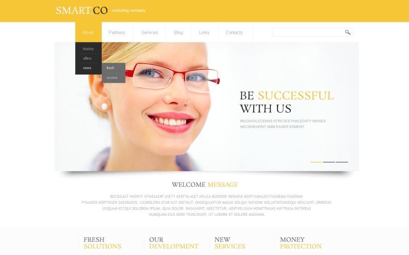 White Consulting WordPress Theme
