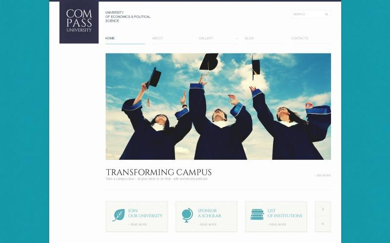 Tema de WordPress de Solid University