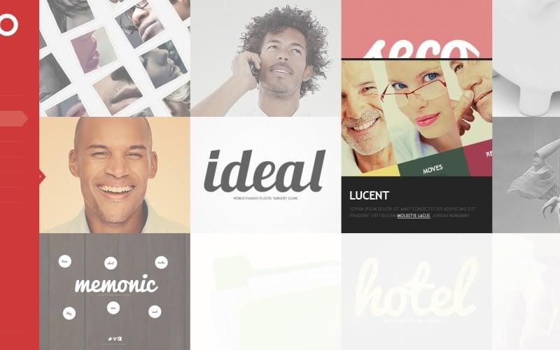 Creative Web Design WordPress Theme
