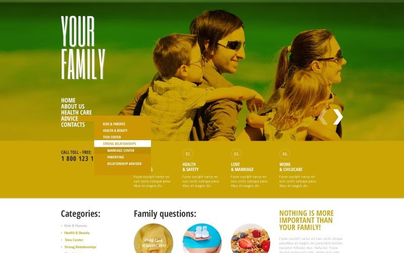Family Joomla Template