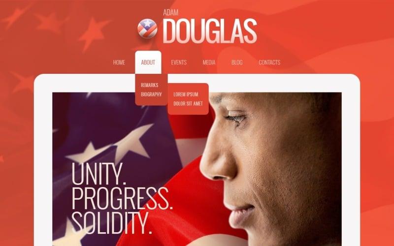 Patriot Political Candidate WordPress Theme