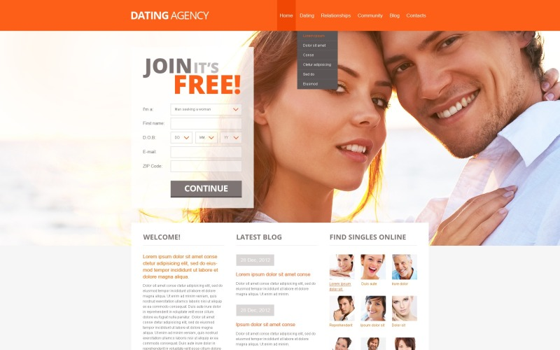 rencontre site web