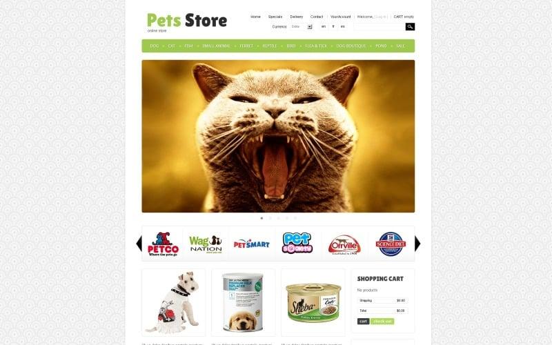 Pet Store PrestaShop Theme