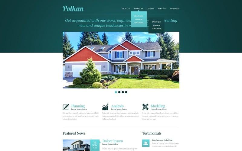 Real Estate Agency Responsive Website Template