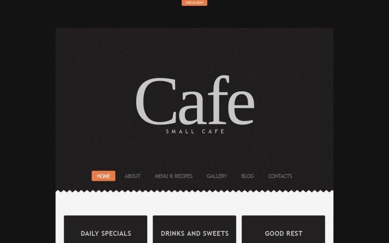 Beautiful Cafe WordPress Theme
