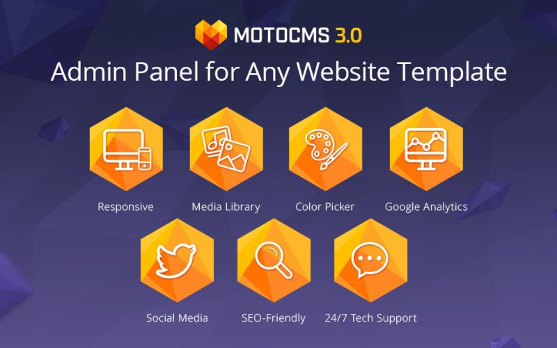 Üzleti szolgáltatások MotoCMS Widget