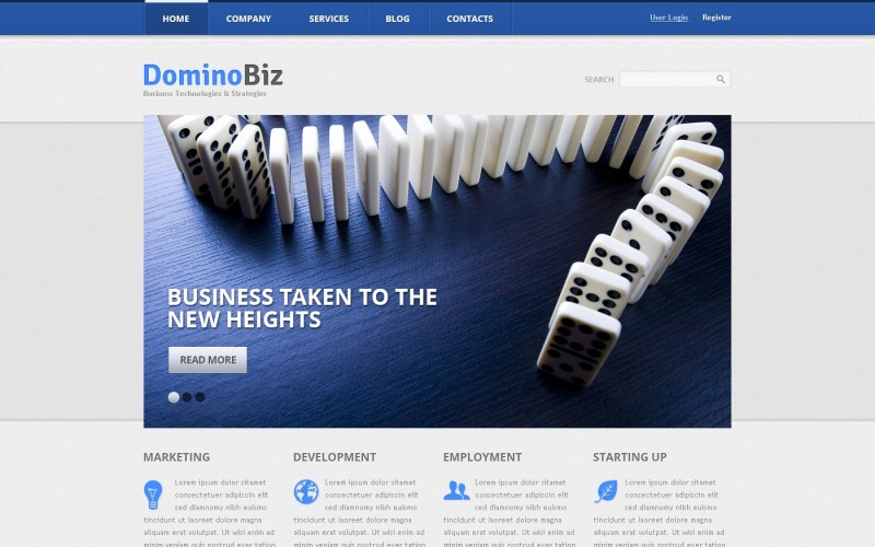 Marketing Business Drupal Template