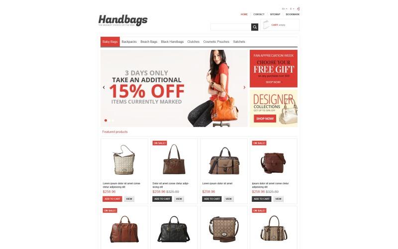 Responsive Handbags Store PrestaShop Theme